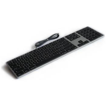 Product image of Matias Space Grey Aluminium Keyboard For Mac - Click for product page of Matias Space Grey Aluminium Keyboard For Mac