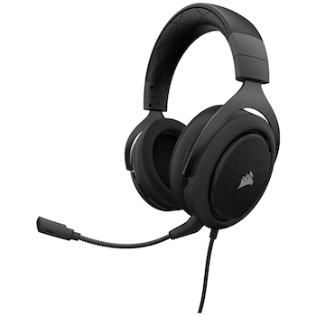 Product image of Corsair Gaming HS50 PRO Carbon Stereo Gaming Headset - Click for product page of Corsair Gaming HS50 PRO Carbon Stereo Gaming Headset