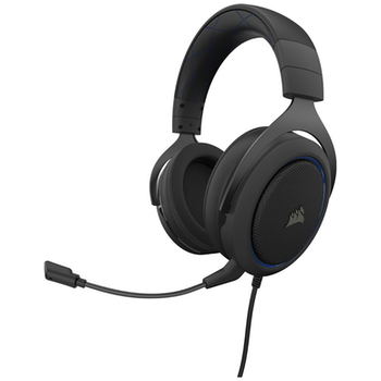 Product image of Corsair Gaming HS50 PRO Blue Stereo Gaming Headset - Click for product page of Corsair Gaming HS50 PRO Blue Stereo Gaming Headset