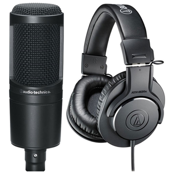Product image of Audio Technica AT2020 & ATH M20x Studio Recording Combo Pack - Click for product page of Audio Technica AT2020 & ATH M20x Studio Recording Combo Pack