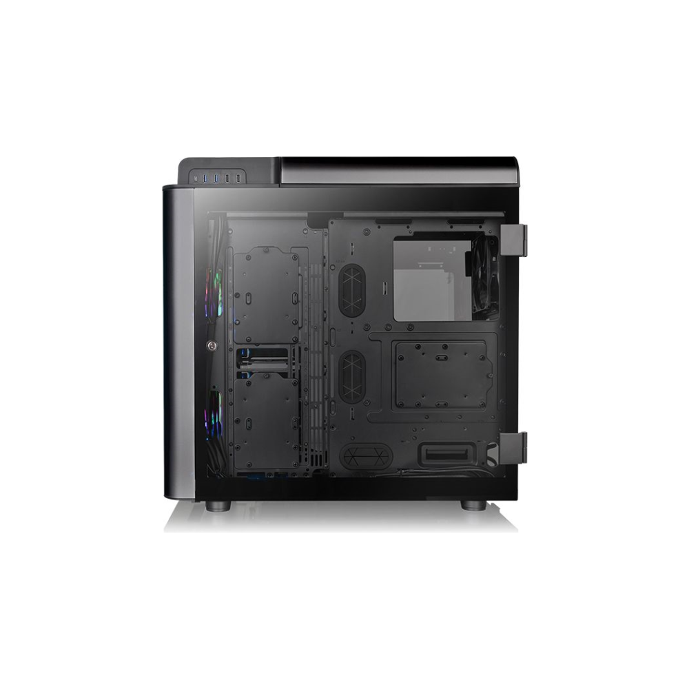 A large main feature product image of Thermaltake Level 20 GT ARGB Black Edition Full Tower Case