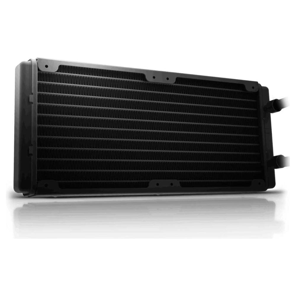 A large main feature product image of Gigabyte Aorus RGB 280 AIO Liquid Cooler