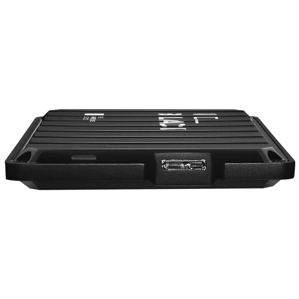 A large main feature product image of WD_BLACK P10 2TB Portable Hard Drive
