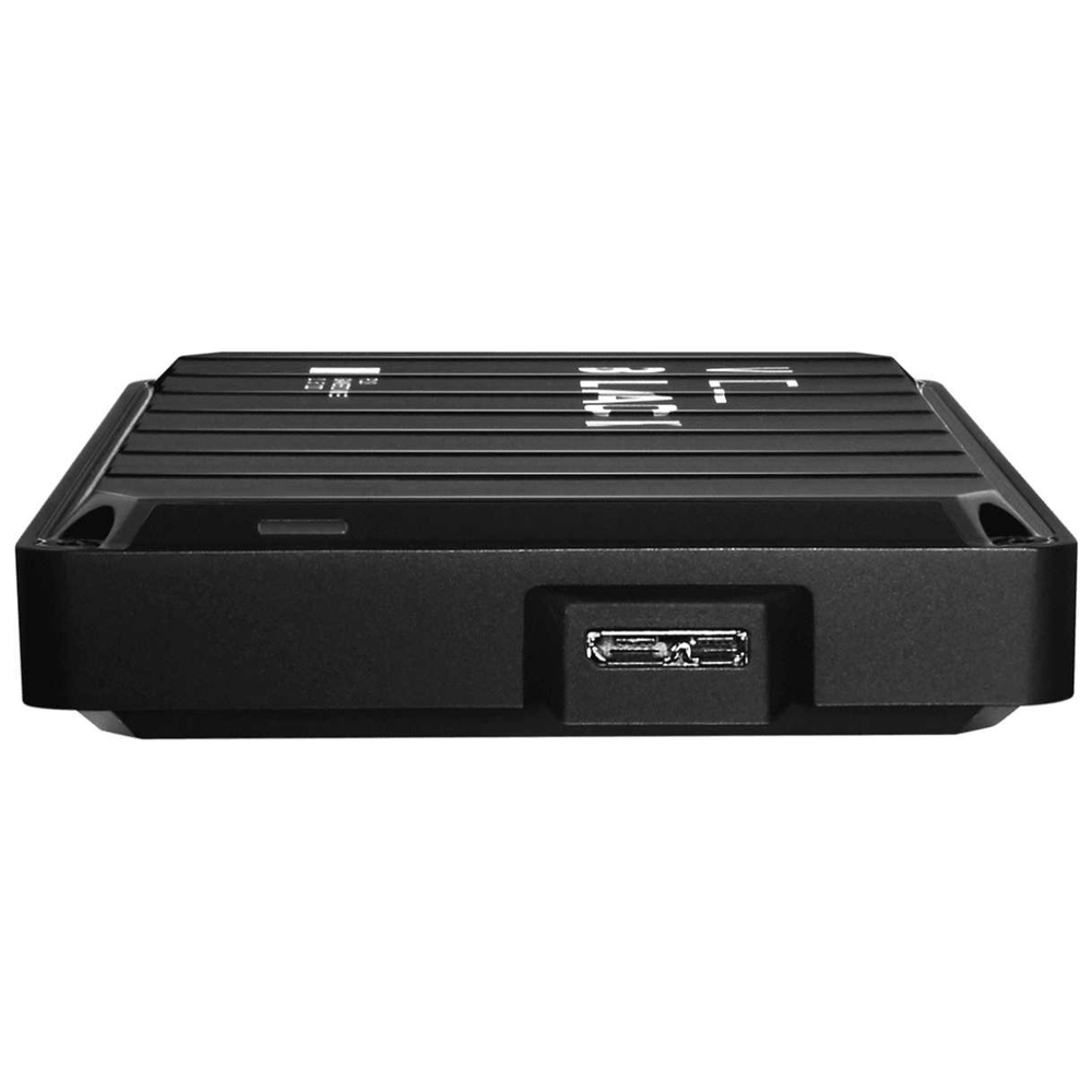 A large main feature product image of WD_BLACK P10 5TB Portable Hard Drive
