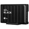 A product image of WD_BLACK D10 8TB Desktop External Hard Drive