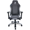 A product image of BattleBull Vaporweave Gaming Chair Dark Grey/White