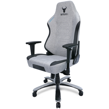 Product image of BattleBull Vaporweave Gaming Chair Grey/Black - Click for product page of BattleBull Vaporweave Gaming Chair Grey/Black