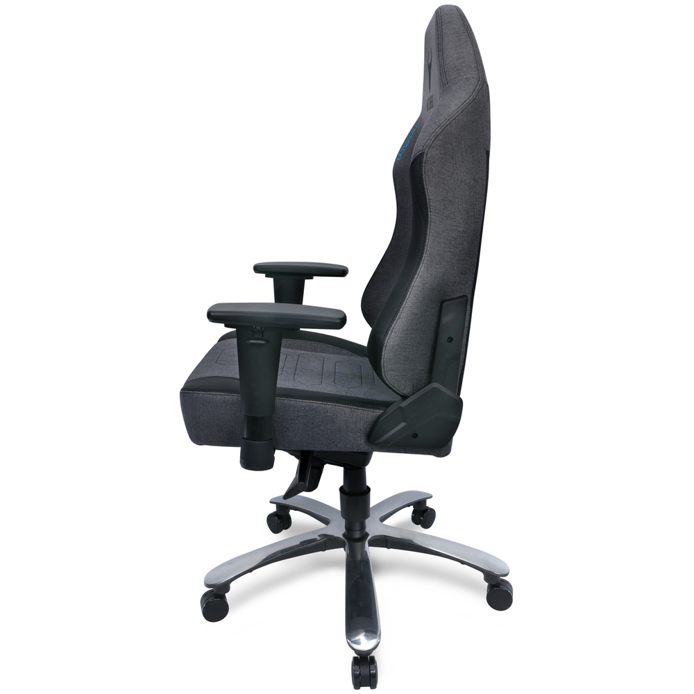 A large main feature product image of BattleBull Vaporweave Gaming Chair Dark Grey/Black