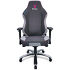 A product image of BattleBull Vaporweave Gaming Chair Dark Grey/Pink