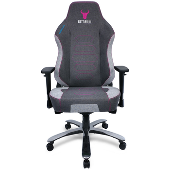 Product image of BattleBull Vaporweave Gaming Chair Dark Grey/Pink - Click for product page of BattleBull Vaporweave Gaming Chair Dark Grey/Pink