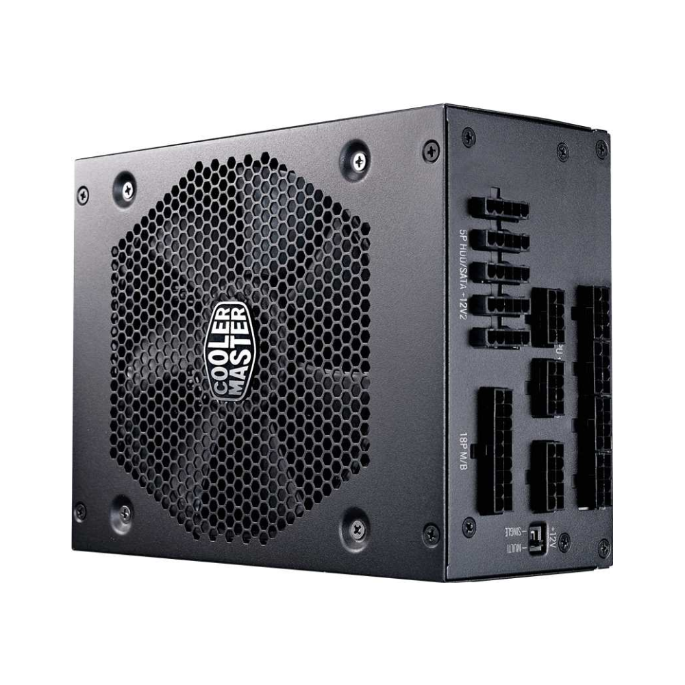 A large main feature product image of Cooler Master V 1000W 80PLUS Platinum Full Modular Power Supply