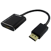 A product image of Volans Aluminium ACTIVE DisplayPort 1.4 to HDMI 2.0b Converter with HDR10 (4K/60Hz)