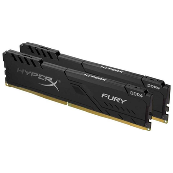 Product image of Kingston 8GB Kit (2x4GB) DDR4 HyperX Fury Black C16 2666Mhz - Click for product page of Kingston 8GB Kit (2x4GB) DDR4 HyperX Fury Black C16 2666Mhz