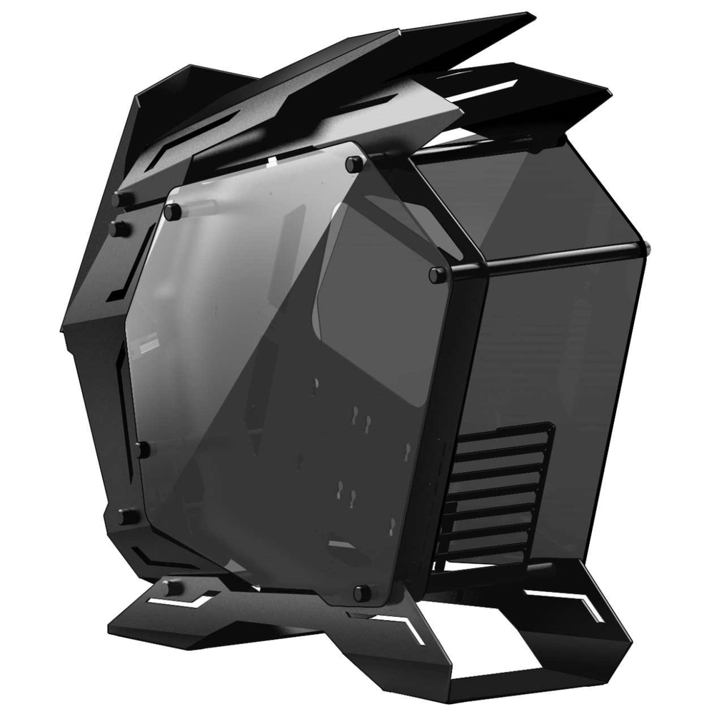 A large main feature product image of Jonsbo MOD3 Black Full Tower Case