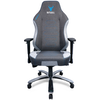 A product image of BattleBull Vaporweave Gaming Chair Dark Grey/Turquoise