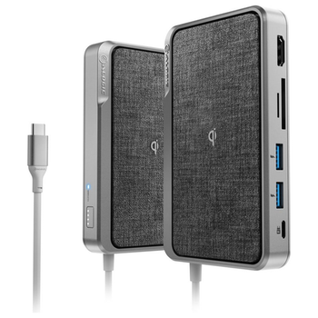 Product image of ALOGIC All-In-One USB-C Hub w/ Power Delivery & Wireless Charging - Click for product page of ALOGIC All-In-One USB-C Hub w/ Power Delivery & Wireless Charging