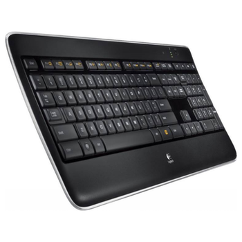Product image of Logitech K800 Wireless Illuminated Keyboard - Click for product page of Logitech K800 Wireless Illuminated Keyboard