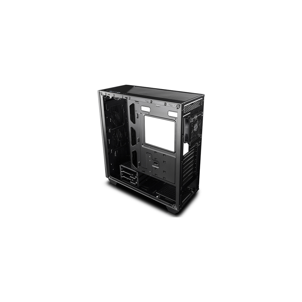 A large main feature product image of Deepcool Earlkase RGB Black Mid Tower (V1)