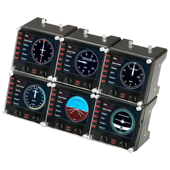 Product image of Logitech G Flight Simulator Aircraft Instrument Panel - Click for product page of Logitech G Flight Simulator Aircraft Instrument Panel