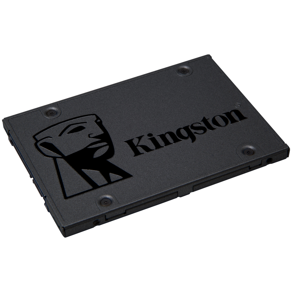 "A large main feature product image of Kingston SSDNow A400 240GB 2.5"" SSD"