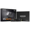 A product image of Samsung 970 EVO Plus 500GB M.2 NVMe SSD