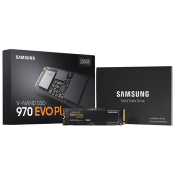 Product image of Samsung 970 EVO Plus 250GB M.2 NVMe SSD - Click for product page of Samsung 970 EVO Plus 250GB M.2 NVMe SSD
