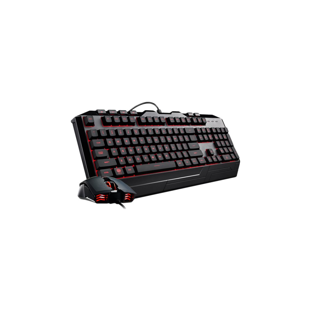 A large main feature product image of Cooler Master Devastator 3 RGB Keyboard and Mouse Combo