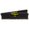A product image of Corsair 32GB Kit (2x16GB) DDR4 Vengeance LPX Black C16 3200Mhz