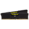 A product image of Corsair 16GB Kit (2x8GB) DDR4 Vengeance LPX Black C16 3200Mhz