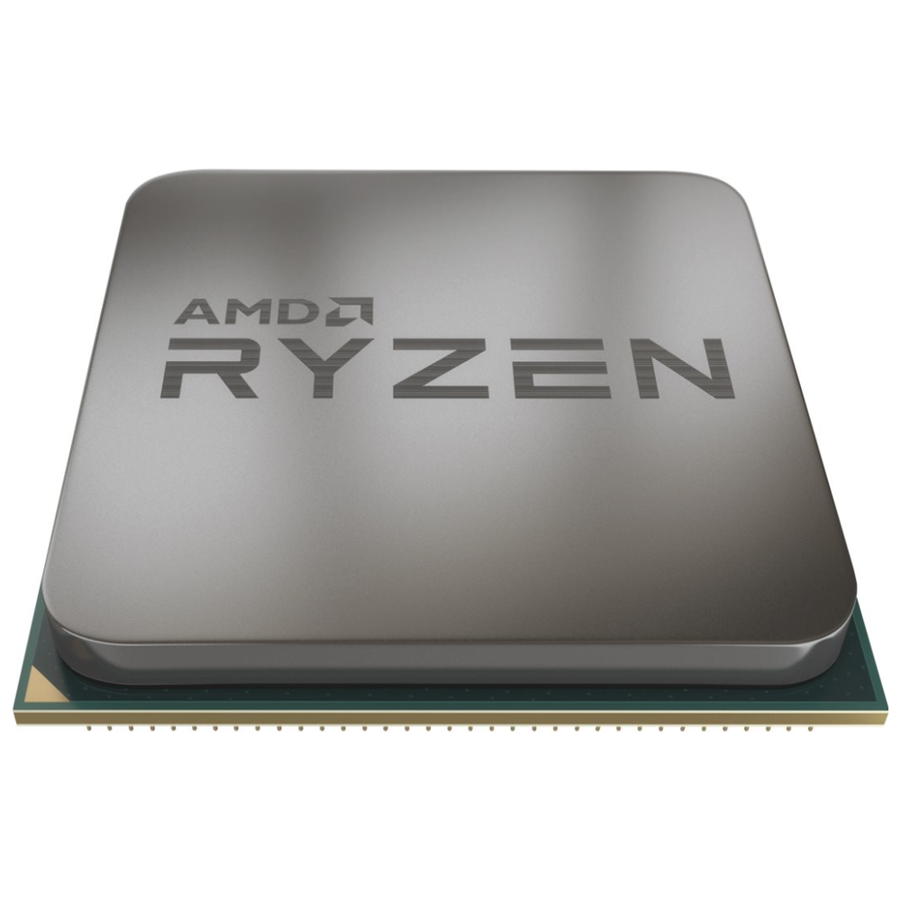A large main feature product image of AMD Ryzen 9 3900X 3.8Ghz 12 Core 24 Thread AM4 Retail Box - With Wraith Prism RGB Cooler
