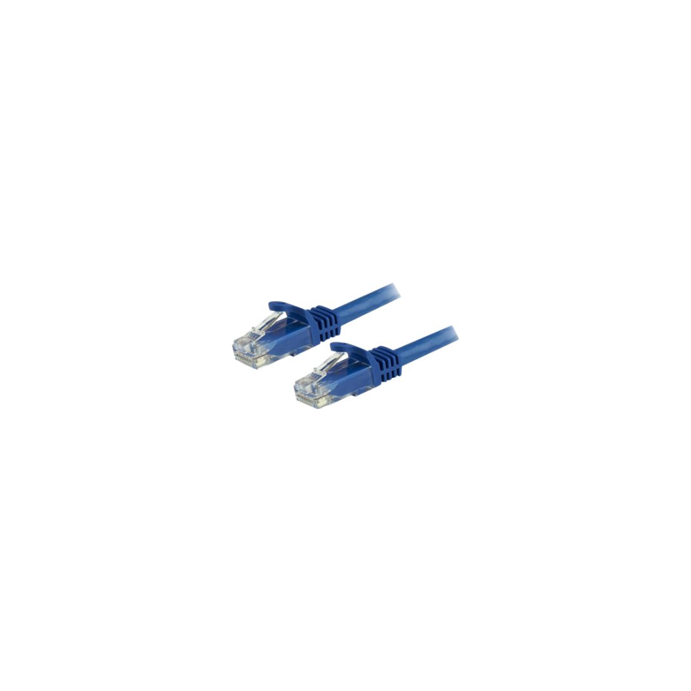 A large main feature product image of Startech 1m Blue Snagless Cat6 UTP Patch Cable - ETL Verified