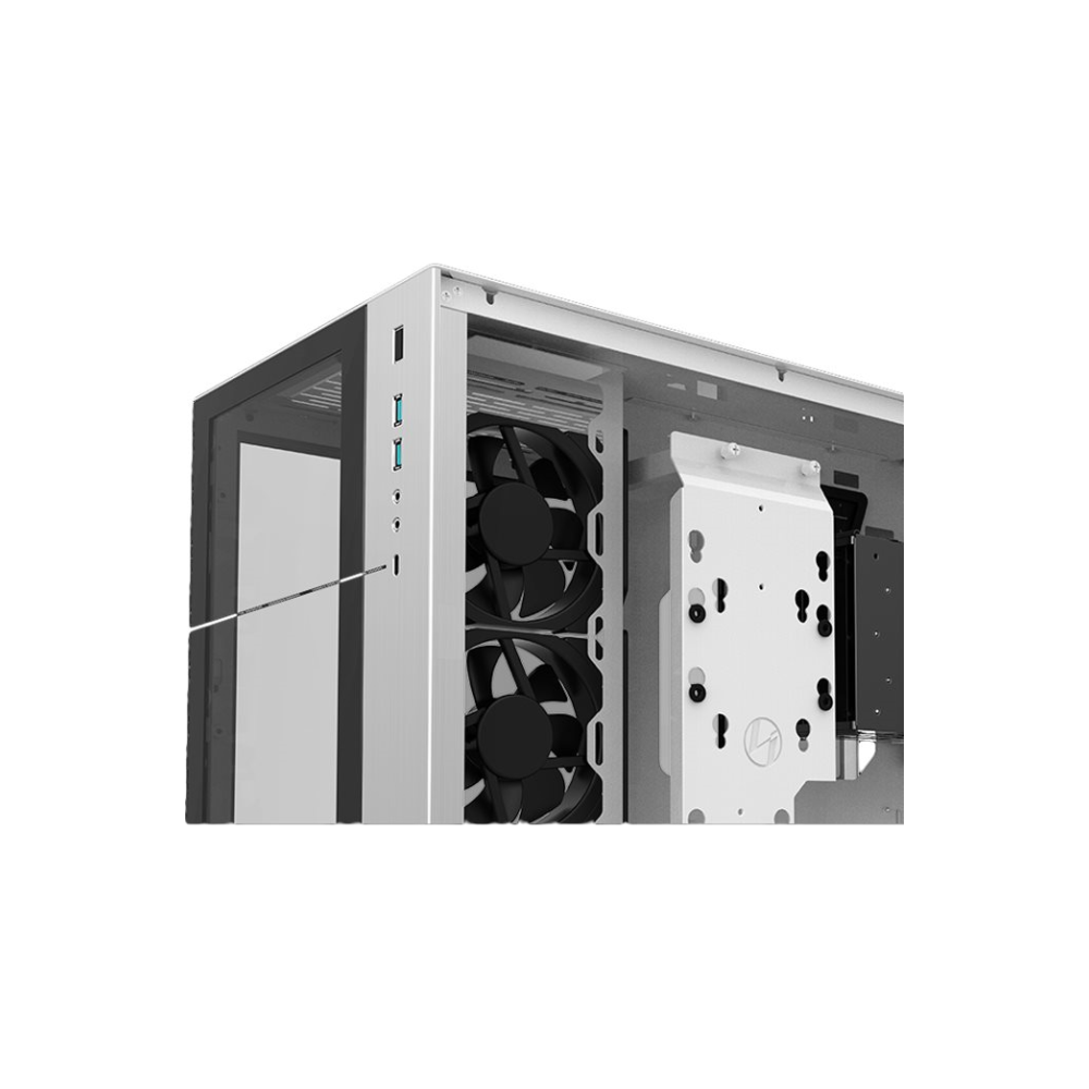 A large main feature product image of Lian-Li PC-O11 Dynamic Tempered Glass Mid Tower Case - Black
