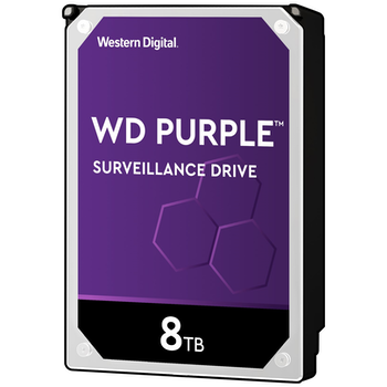"""Product image of WD Purple WD82PURZ 3.5"""" 8TB 256MB Surveillance HDD - Click for product page of WD Purple WD82PURZ 3.5"""" 8TB 256MB Surveillance HDD"""