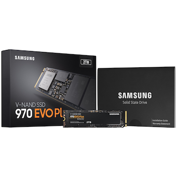 Product image of Samsung 970 EVO Plus 2TB M.2 NVMe SSD - Click for product page of Samsung 970 EVO Plus 2TB M.2 NVMe SSD
