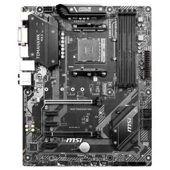 Product image of MSI B450 Tomahawk Max AM4 ATX Desktop Motherboard - Click for product page of MSI B450 Tomahawk Max AM4 ATX Desktop Motherboard