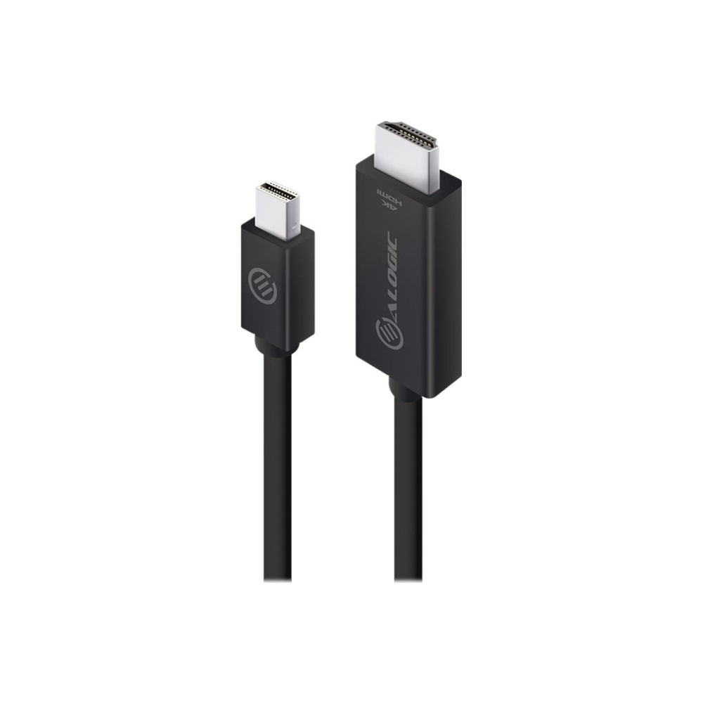 A large main feature product image of ALOGIC Elements ACTIVE 2m Mini DisplayPort to HDMI Cable with 4K@60Hz Support -  Male to Male