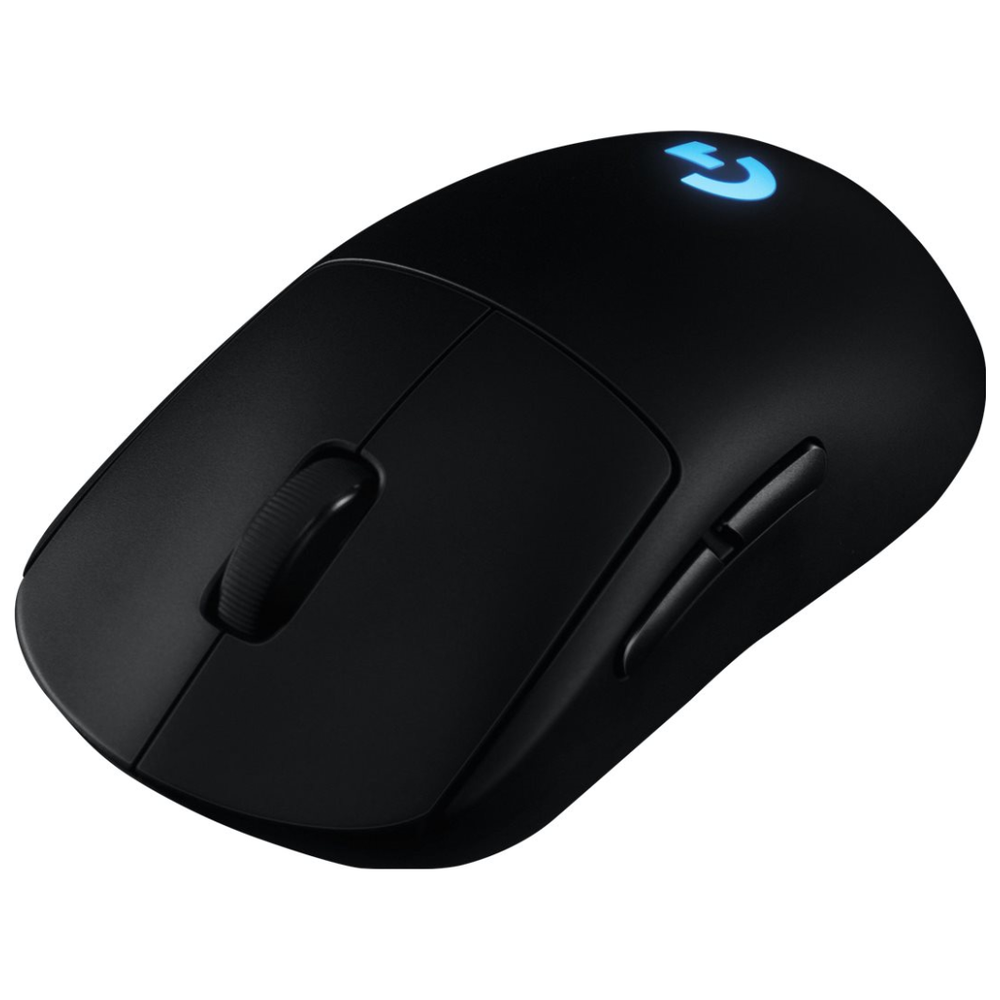 A large main feature product image of Logitech G Pro Wireless Gaming Mouse