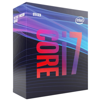 Product image of Intel Core i7 9700 3.0GHz Coffee Lake R 8 Core 8 Thread LGA1151-CL - Retail Box - Click for product page of Intel Core i7 9700 3.0GHz Coffee Lake R 8 Core 8 Thread LGA1151-CL - Retail Box