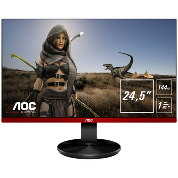 "Product image of AOC G2590PX 24.5"" Full HD FreeSync Frameless 144Hz 1MS LED Gaming Monitor - Click for product page of AOC G2590PX 24.5"" Full HD FreeSync Frameless 144Hz 1MS LED Gaming Monitor"