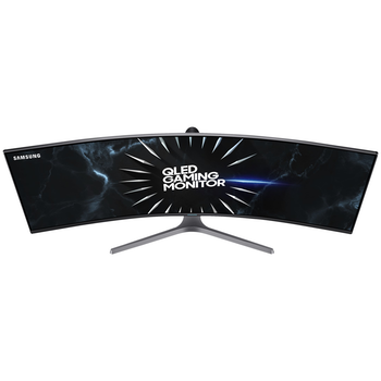 "Product image of Samsung CRG9 49"" Dual WQHD FreeSync 2 Curved 120Hz 4MS VA QLED Gaming Monitor - Click for product page of Samsung CRG9 49"" Dual WQHD FreeSync 2 Curved 120Hz 4MS VA QLED Gaming Monitor"