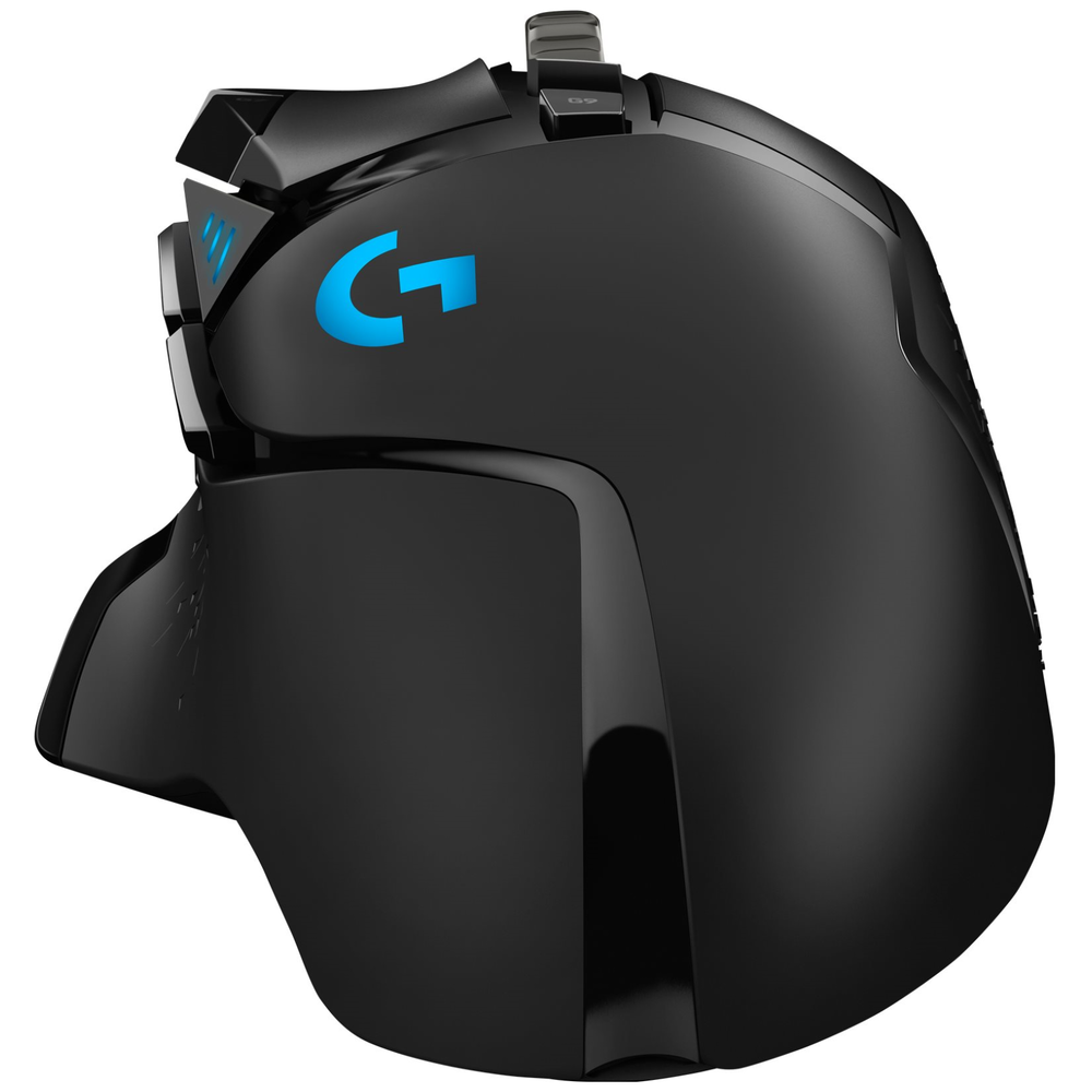 A large main feature product image of Logitech G502 LIGHTSPEED Wireless Optical Gaming Mouse