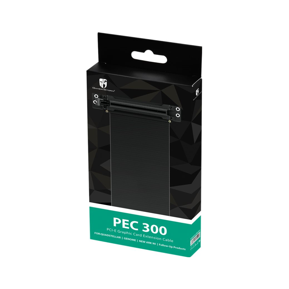 A large main feature product image of Deepcool PEC 300 PCIe x16 Riser Cable
