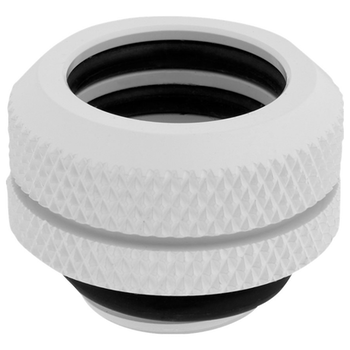 Product image of Corsair Hydro X Series XF HL White Hardline Fittings (14mm OD) 4 Pack - Click for product page of Corsair Hydro X Series XF HL White Hardline Fittings (14mm OD) 4 Pack
