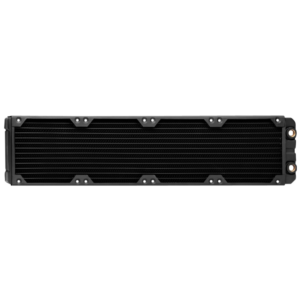 A large main feature product image of Corsair Hydro X Series XR7 480mm Radiator
