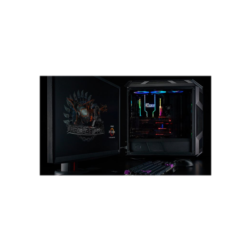 A large main feature product image of Cooler Master Wraith Ripper Addressable RGB AMD TR4 CPU Cooler