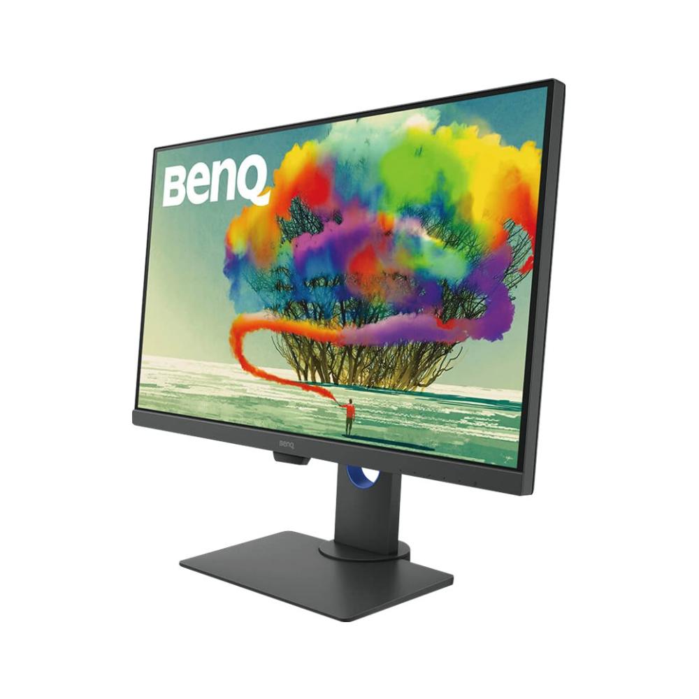 A large main feature product image of BenQ DesignVue PD2700U 4K UHD IPS 100% sRGB HDR Professional Designer LED Monitor