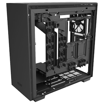 Product image of NZXT H710 Matte Black Mid Tower Case w/ Side Panel Window - Click for product page of NZXT H710 Matte Black Mid Tower Case w/ Side Panel Window