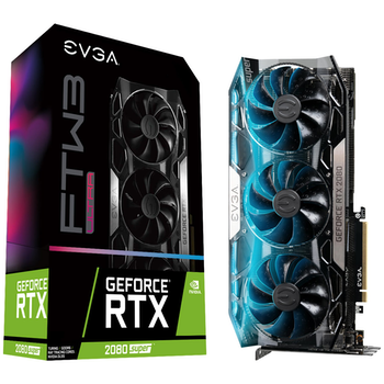 Product image of eVGA GeForce RTX2080 Super FTW3 Ultra Gaming 8GB GDDR6 - Click for product page of eVGA GeForce RTX2080 Super FTW3 Ultra Gaming 8GB GDDR6