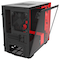 A small tile product image of NZXT H210i Matte Black/Red Smart mITX Case w/ Side Panel Window