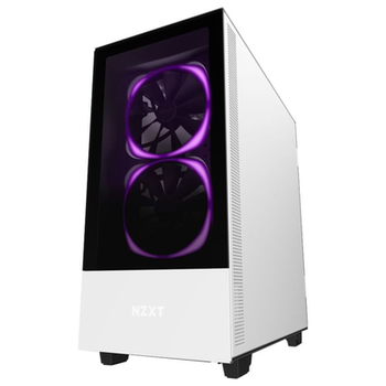 Product image of NZXT H510 Elite Matte Black/White Premium Mid Tower Case w/Tempered Glass Side Panel - Click for product page of NZXT H510 Elite Matte Black/White Premium Mid Tower Case w/Tempered Glass Side Panel